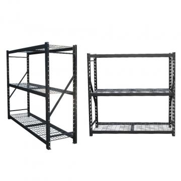 Office Warehouse 4 Layers Light Duty Storage Steel Wire Mesh Shelving