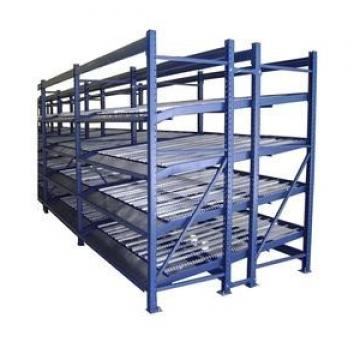 Warehouse Steel Pallet Carton Storage Gravity Flow Rack with Rollers