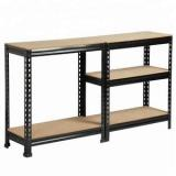 5 Tier Garage Shelving Wire Shelving Unit, Storage Rack Garage Shelf Heavy Duty Metal Shelves, Black