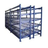 a Frame Glass Shelf Storage Rack Glass Transportation Pallet Roller Pipe Warehouse Storage Rack