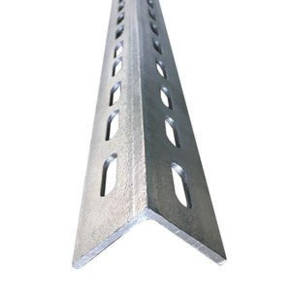 Galvanized Slotted BS En S355jr S355j0 ASTM A572 Gr50 Gr60 A36 Perforated Angle Iron #3 image