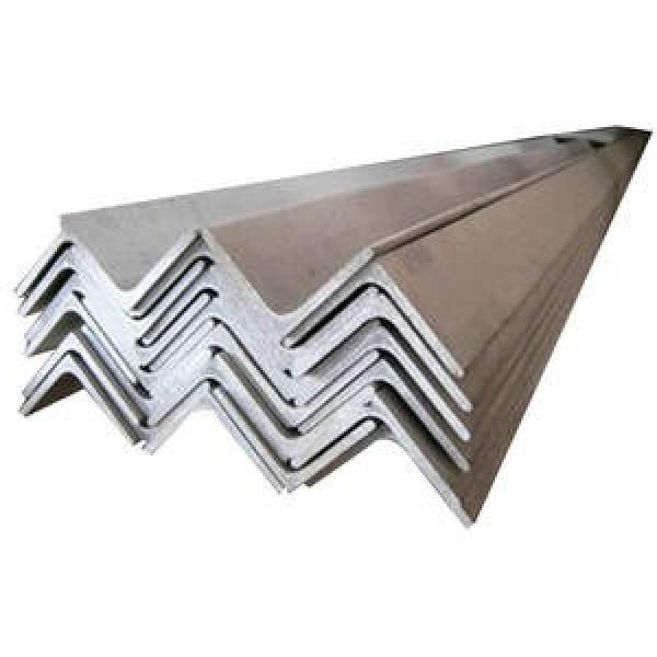 High Tensile Hot Rolled Standard Size Ss400 Ms Galvanized Mild Slotted Iron Steel Angle #2 image