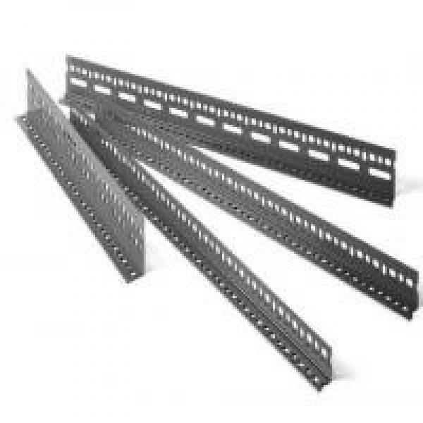 Aufriga Brand Equal and Unequal Hot Rolled Slotted Steel Angle Bar Galvanized with Holes #3 image