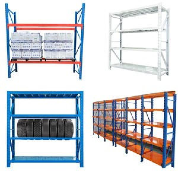 Industrial Metal Anti Corrosive Heavy Duty Selective Pallet Selective Storage Warehouse Stacking Shelving #2 image