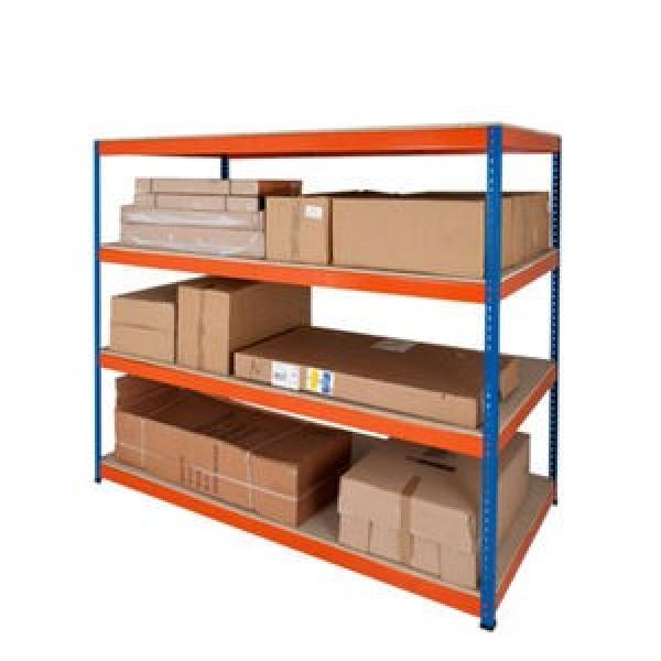 Heavy Duty Metal Display Unit Colored Shelves for Tools with LCD TV Screen #2 image
