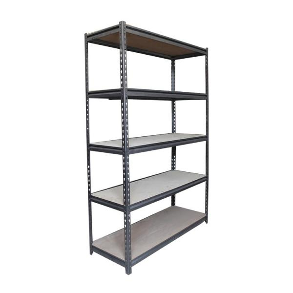 Stainless Steel Wire Store Chinese Floor Storage Supermarket Metal Retail Store Fruit Gondola Store Display Rack Stand Shelf #2 image
