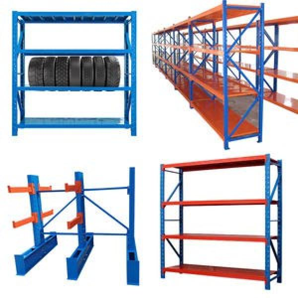 Powder Coated Steel Industrial Long Span Shelving Unit for Warehouse #1 image