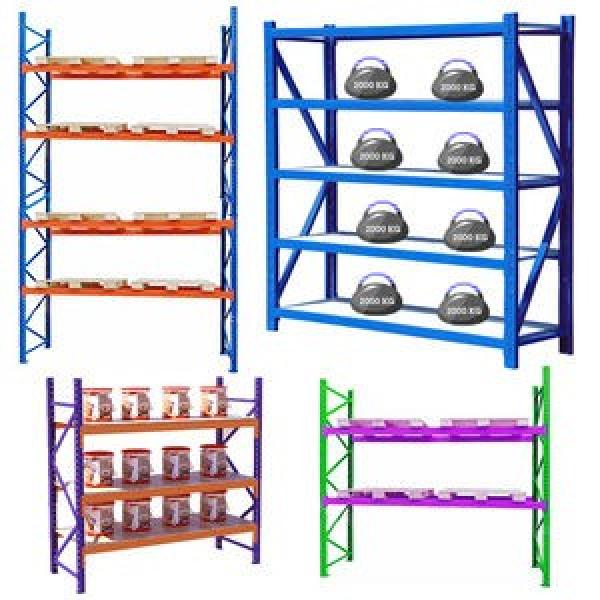 Metal Heavy Duty Shelf/Steel Adjustable Rack/Storage Industrial Pallet Rack #3 image