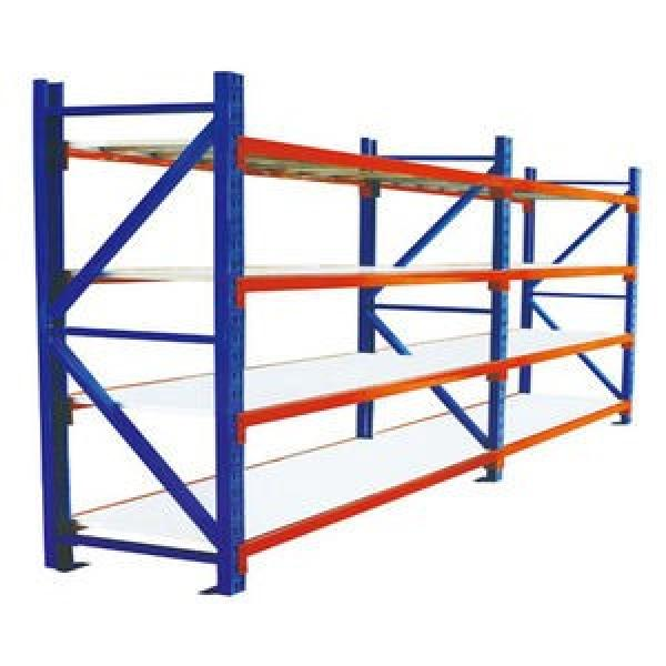 Durable Industrial Metal Steel Wire Shelving, Garage Warehouse Storage Rack Shelving with Wheel #2 image