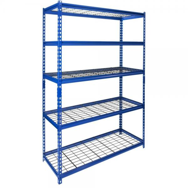Steel Reinforced Structure Warehouse Boltless Rivet Drive in Storage Wire Shelving #2 image