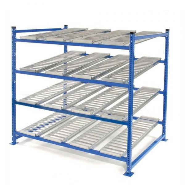 Heavy Duty Warehouse Storage Pallet Shelving with Wire Mesh Decking #1 image