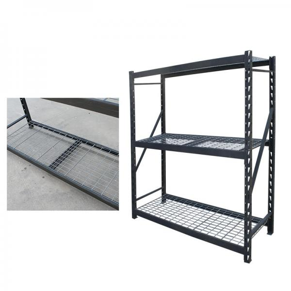 Steel Reinforced Structure Warehouse Boltless Rivet Drive in Storage Wire Shelving #1 image
