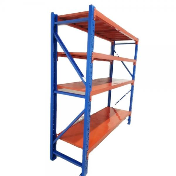 Two-Sided Floor Standing Metal Retail Merchandising Units with Hooks and Shelves #2 image