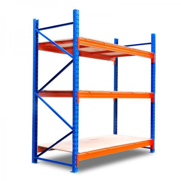 Powder Coating Heavy Duty Metal Steel Stacking Storage Truck Tire Rack for Warehouse #1 image