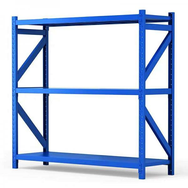 Powder Coating Heavy Duty Metal Steel Stacking Storage Truck Tire Rack for Warehouse #2 image