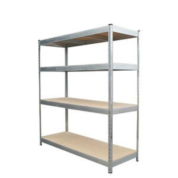 Heavy Duty Metal Display Unit Colored Shelves for Tools with LCD TV Screen #3 image