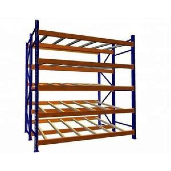 Warehouse Steel Pallet Carton Storage Gravity Flow Rack with Rollers #3 image