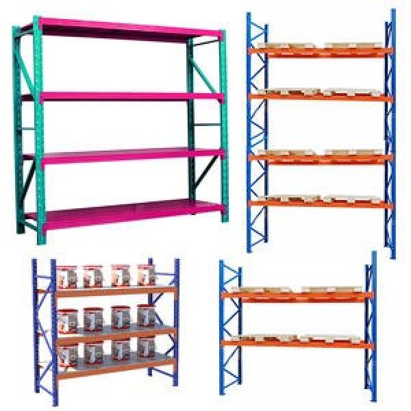 Warehouse Storage Slide Gravity Carton Flow Pallet Roller Rack #1 image