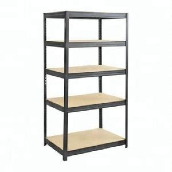 Durable Industrial Metal Steel Wire Shelving, Garage Warehouse Storage Rack Shelving with Wheel #1 image