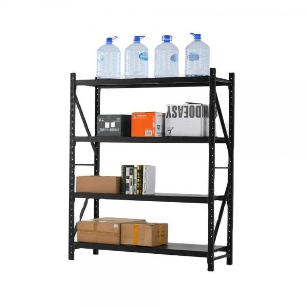 Colorful DIY Office Storage Small Boltless Metal Rack #2 image